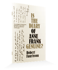 Is The Diary of Anne Frank Genuine?