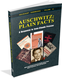 Auschwitz: Plain Facts