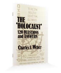 The 'Holocaust' – 120 questions and answers